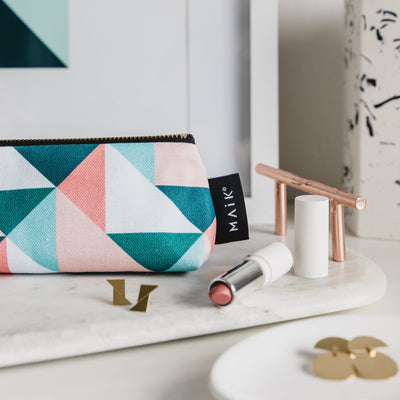 Union Triangles Pencil Case