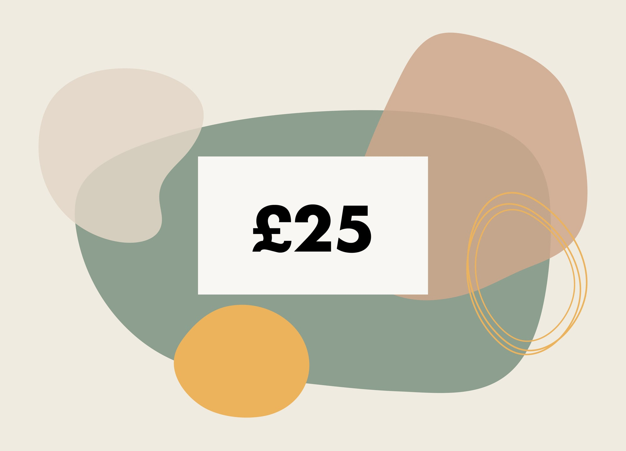 £25 Gift Card - MAiK sustainably sourced, ethically produced.