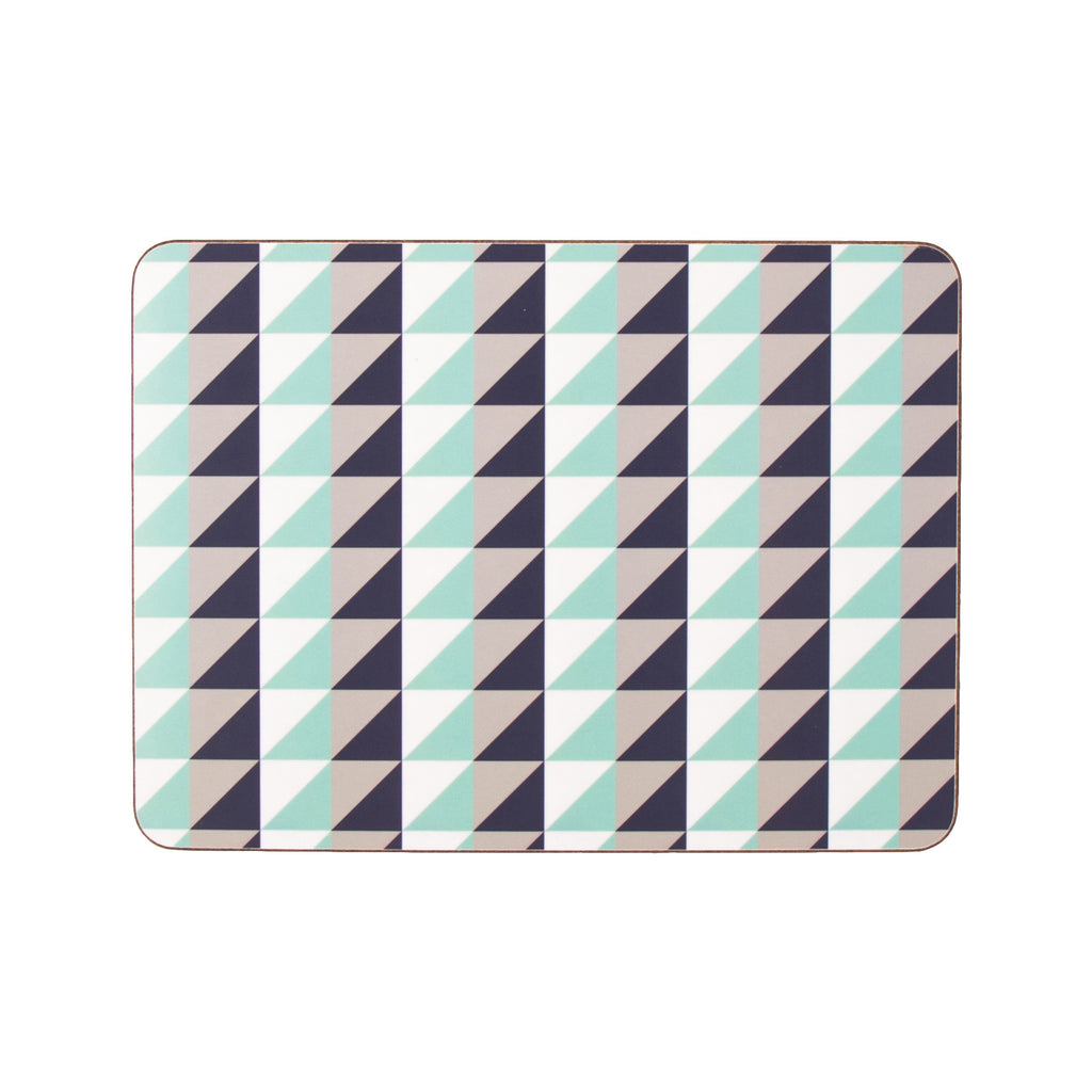 Geometric Placemat set made from Melamine