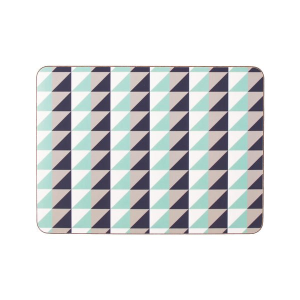 Pure Rectangle Placemat Set - MAiK sustainably sourced, ethically produced.