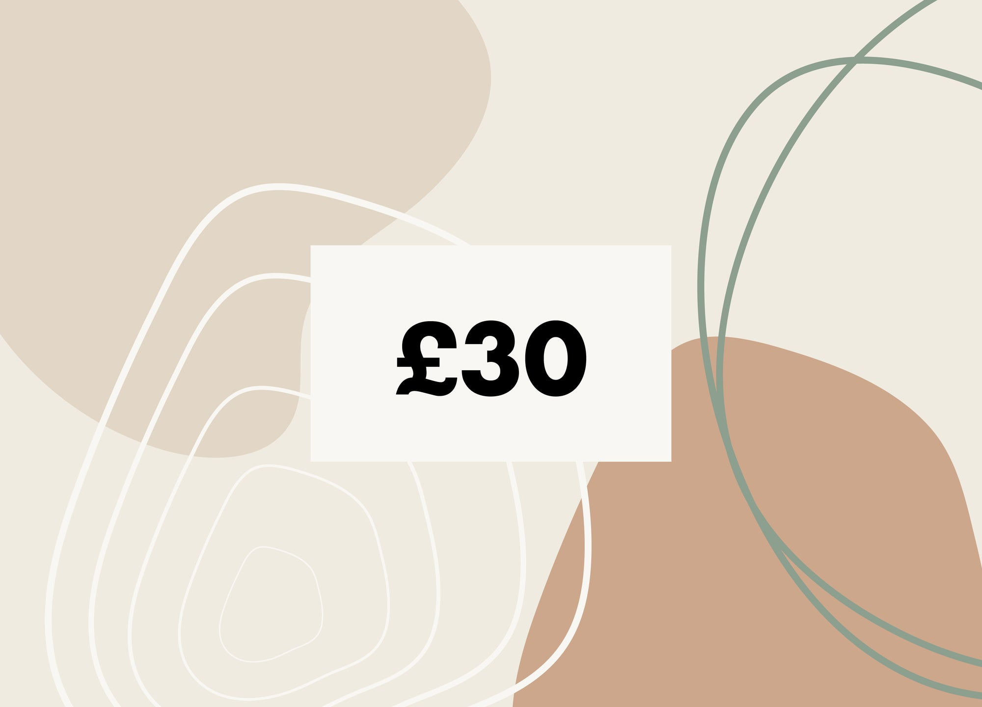 £30 Gift Card - MAiK sustainably sourced, ethically produced.