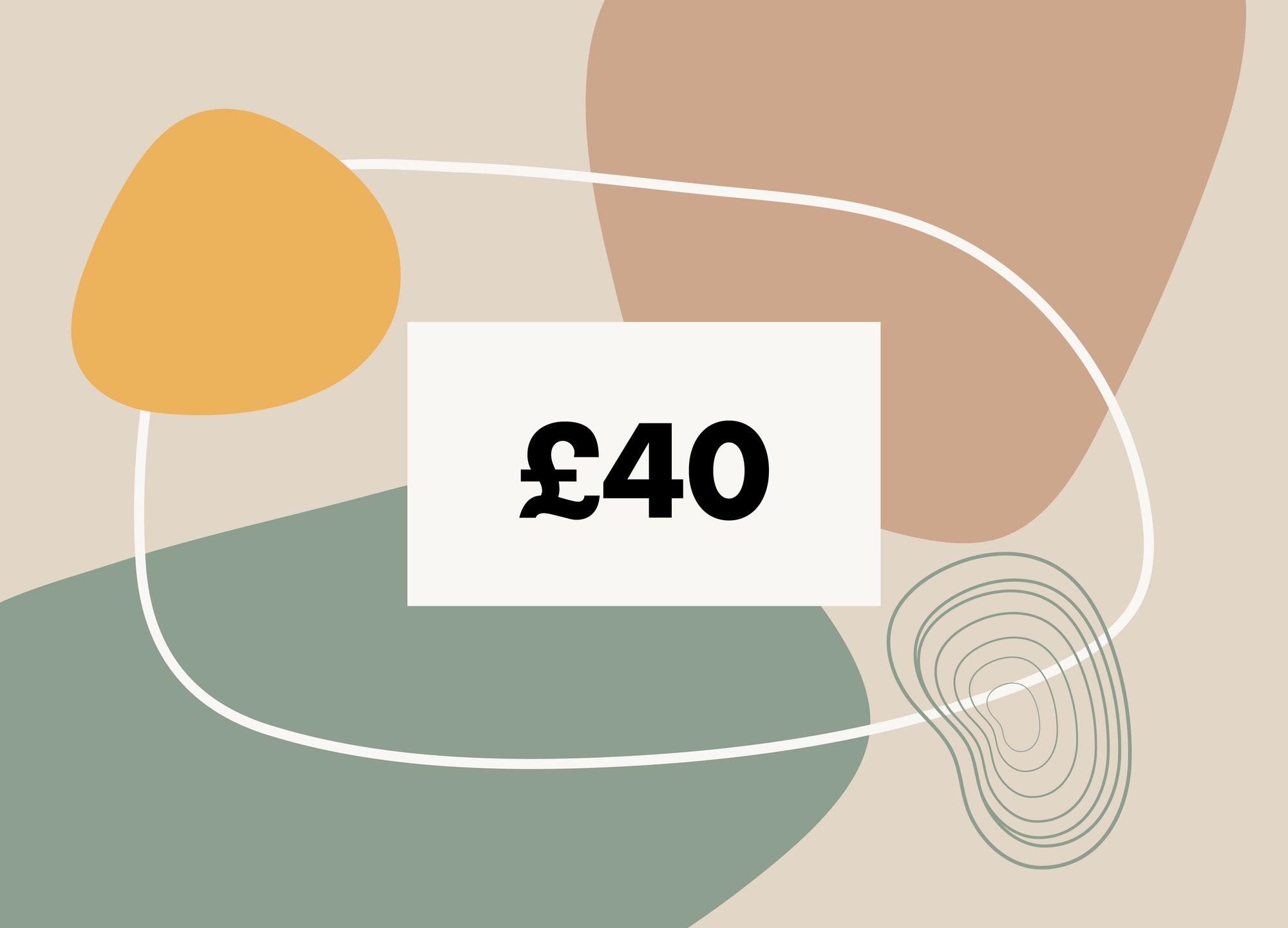 £40 Gift Card - MAiK sustainably sourced, ethically produced.
