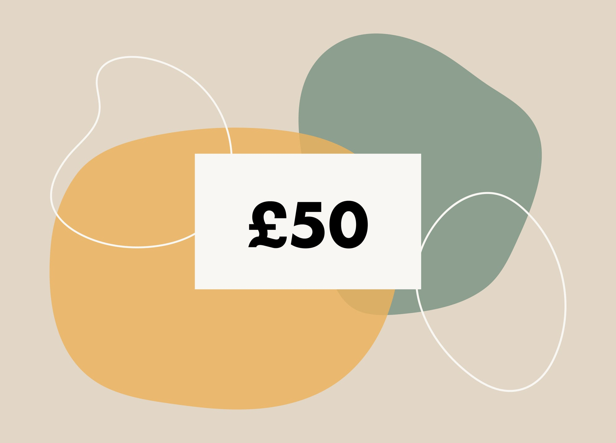 £50 Gift Card - MAiK sustainably sourced, ethically produced.