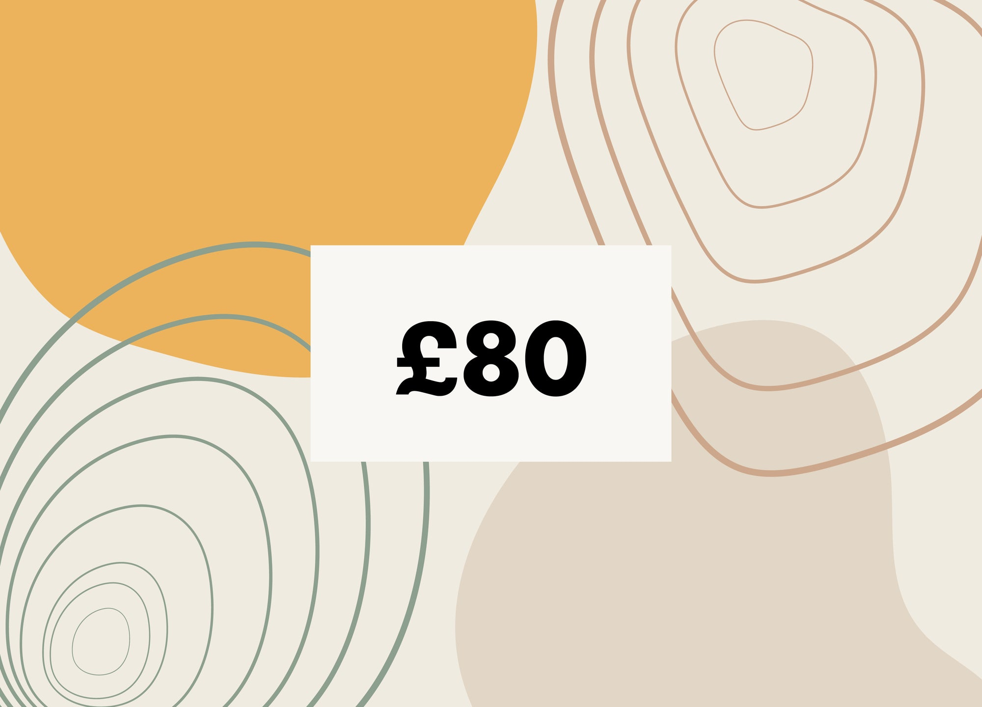 £80 Gift Card - MAiK sustainably sourced, ethically produced.