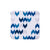 Blue Ikat Square Coaster - MAiK sustainably sourced, ethically produced.