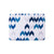 Blue Ikat Rectangle Placemat Set - MAiK sustainably sourced, ethically produced.