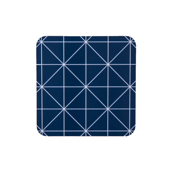 Criss Cross Square Coaster - MAiK sustainably sourced, ethically produced.