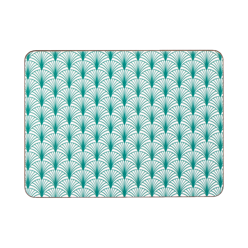Geo Leaf Rectangle Placemat - MAiK sustainably sourced, ethically produced.