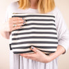 Stripes Weekend Bag - MAiK sustainably sourced, ethically produced.