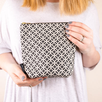 Circles Make Up Bag - MAiK sustainably sourced, ethically produced.