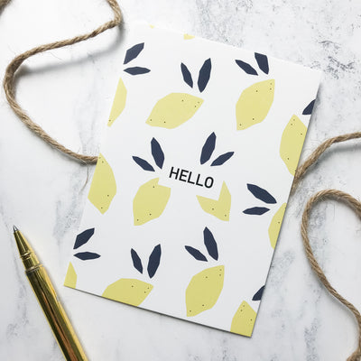 Hello Gift Note