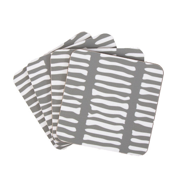 Lines Square Coaster - MAiK sustainably sourced, ethically produced.
