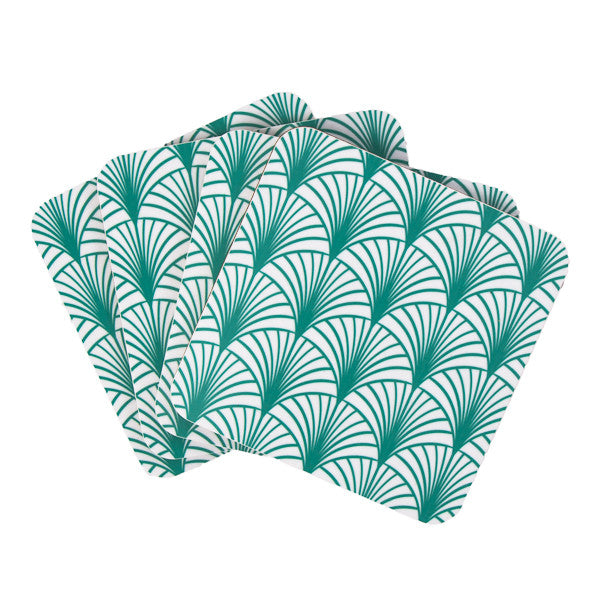 Geo Leaf coaster set - MAiK