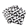 Black Triangle square coaster - MAiK sustainably sourced, ethically produced.