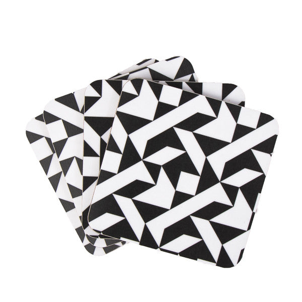 Black Triangle coaster set - MAiK