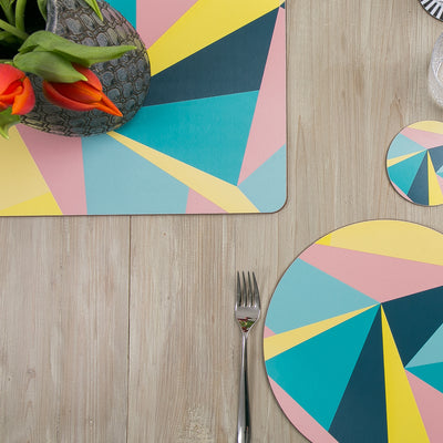 Angles Extra Large Table Mat - MAiK sustainably sourced, ethically produced.