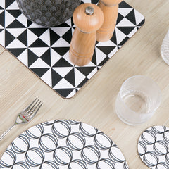 MAiK black large table mat