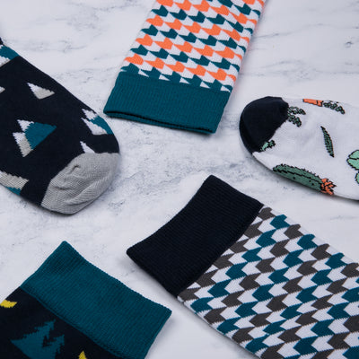 Arrow Grey Socks - MAiK sustainably sourced, ethically produced.