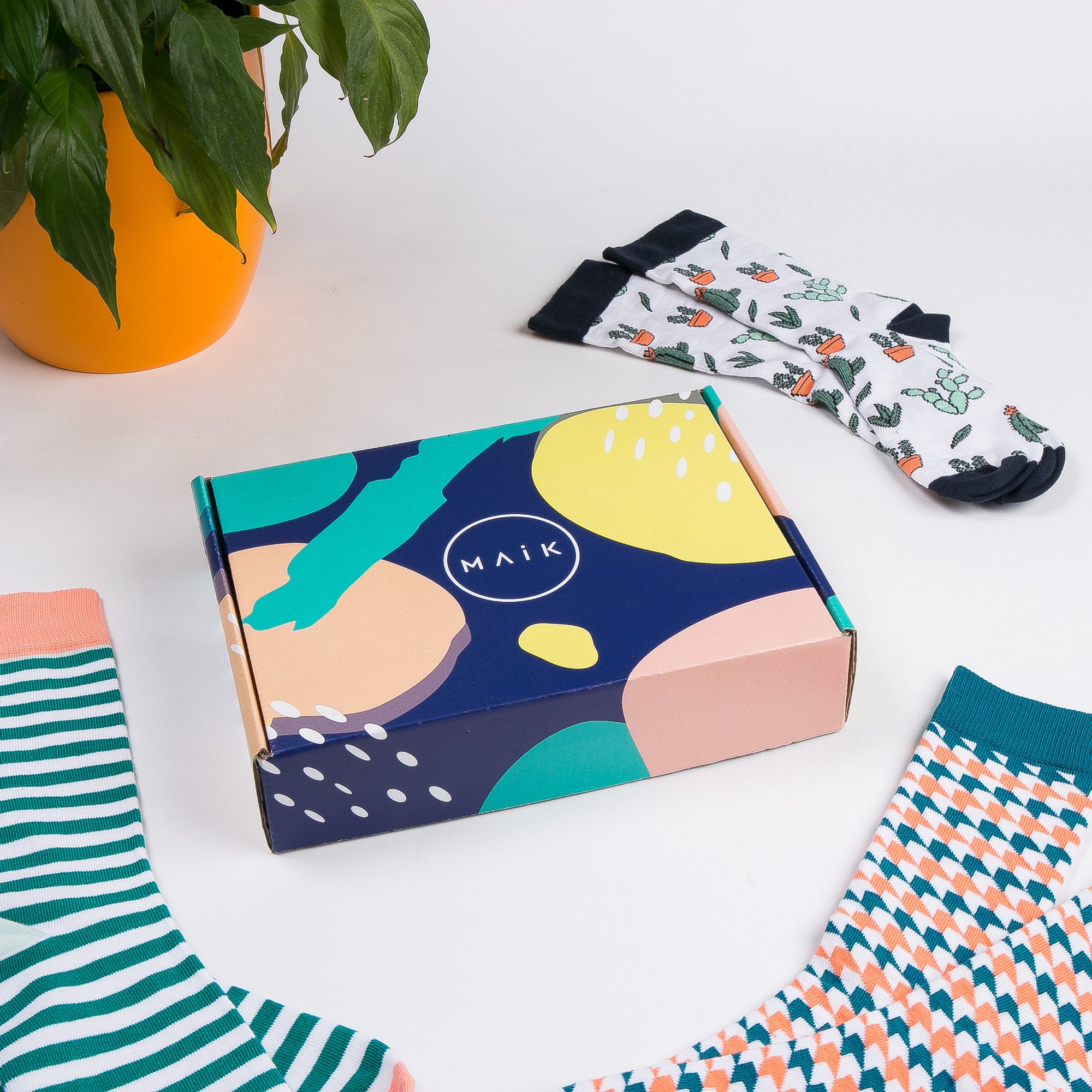 Sock Gift Box - MAiK sustainably sourced, ethically produced.