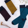 Waffle Teal Socks - MAiK sustainably sourced, ethically produced.