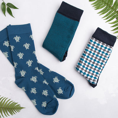Turtle Socks - MAiK sustainably sourced, ethically produced.