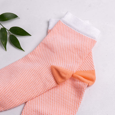 Waffle Mango Ankle Socks - MAiK sustainably sourced, ethically produced.