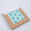 Geo Leaf Square Coaster - MAiK sustainably sourced, ethically produced.