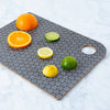 monochrome chopping board