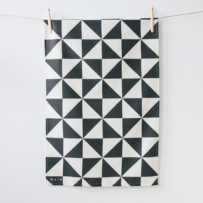 Triangle Organic Cotton Tea Towel - MAiK sustainably sourced, ethically produced.