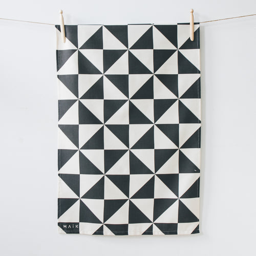 Triangle Organic Cotton Tea Towel