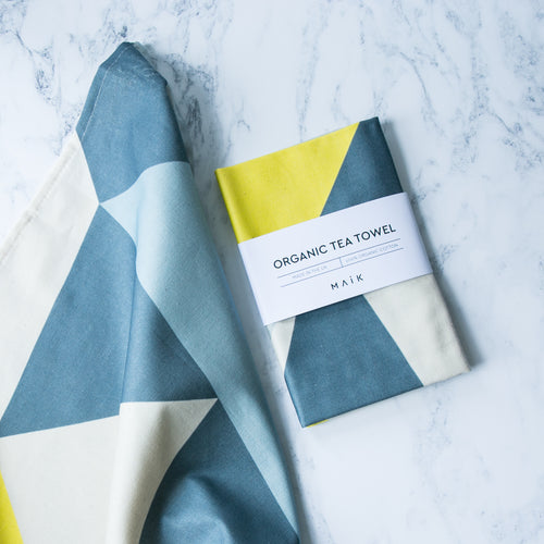 Set of 2 Angles Tea Towels