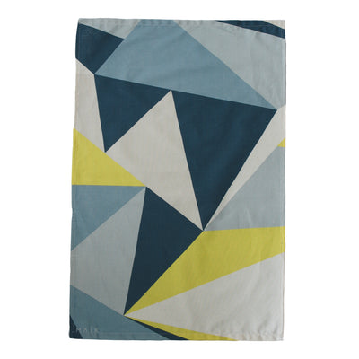 Yellow Angles Organic Cotton Tea Towel - MAiK sustainably sourced, ethically produced.