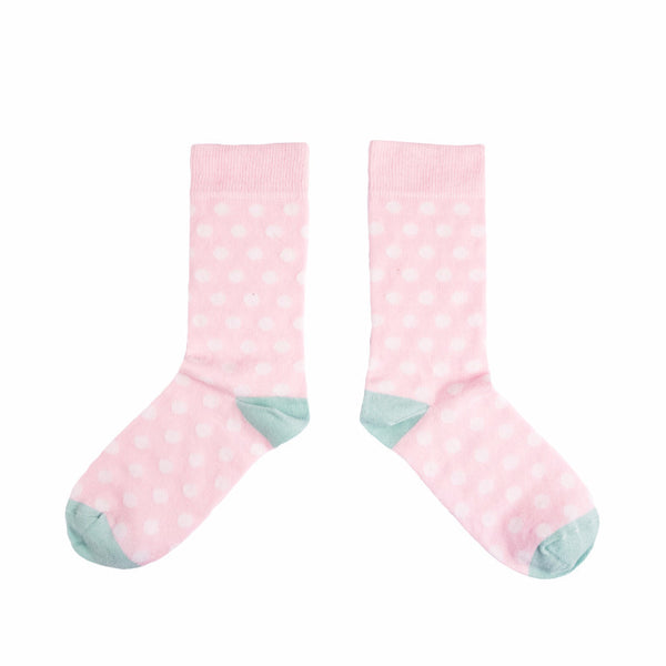 Pink Dot Sock Socks - MAiK