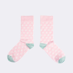 Pink Dot Sock Socks
