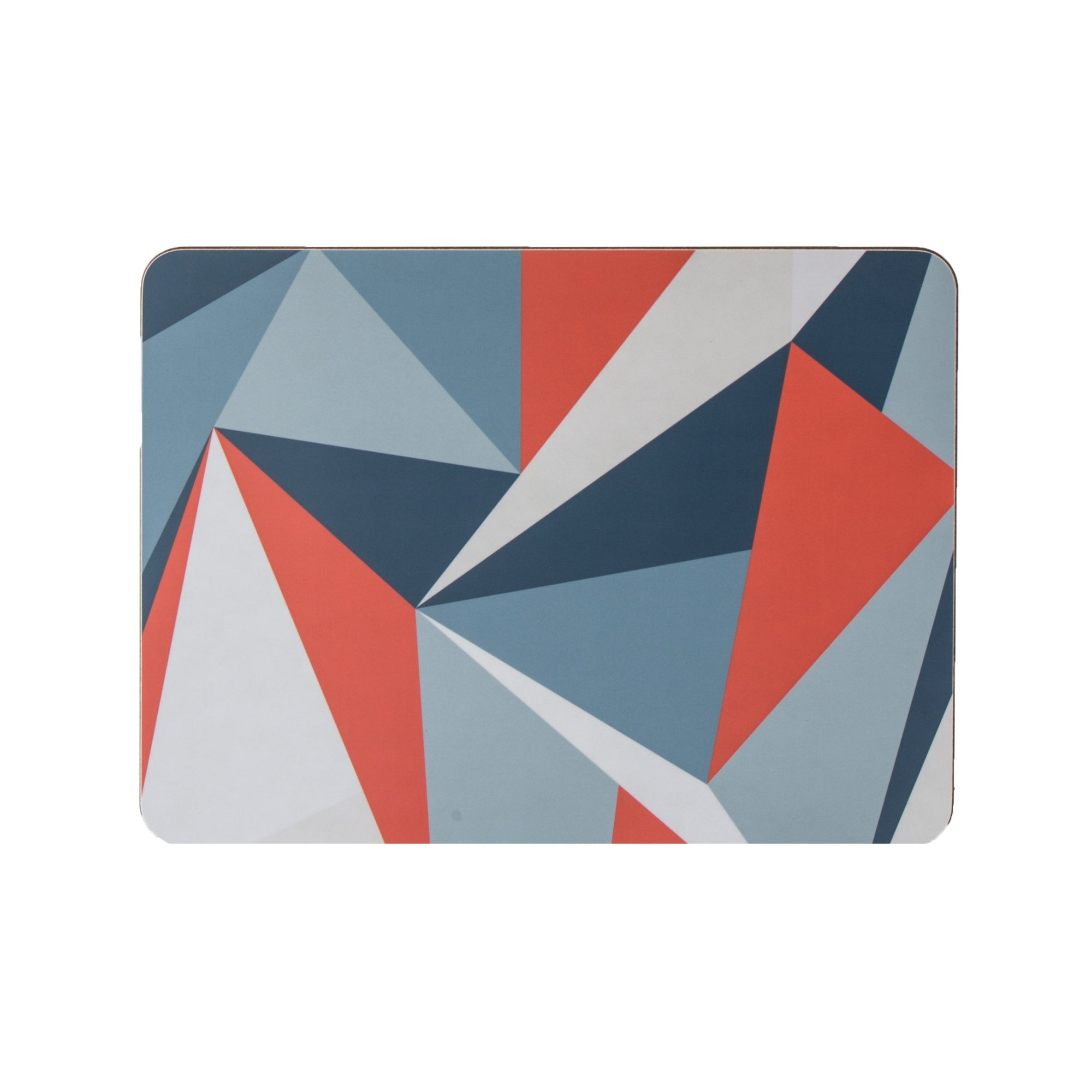 Coral Angles Rectangle Placemat Set - MAiK sustainably sourced, ethically produced.
