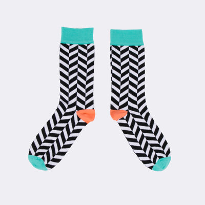 Chevron Socks - MAiK sustainably sourced, ethically produced.