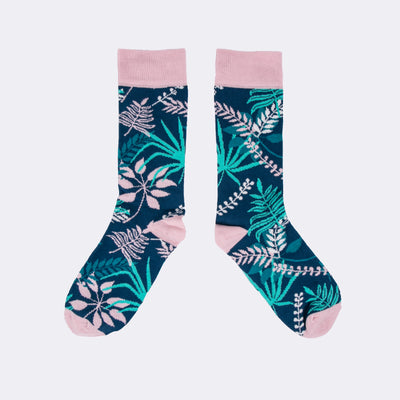 Floral Socks - MAiK sustainably sourced, ethically produced.