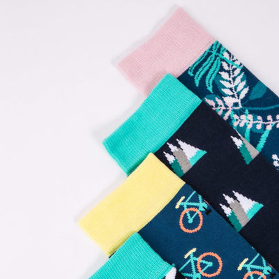 Peak Socks - MAiK sustainably sourced, ethically produced.