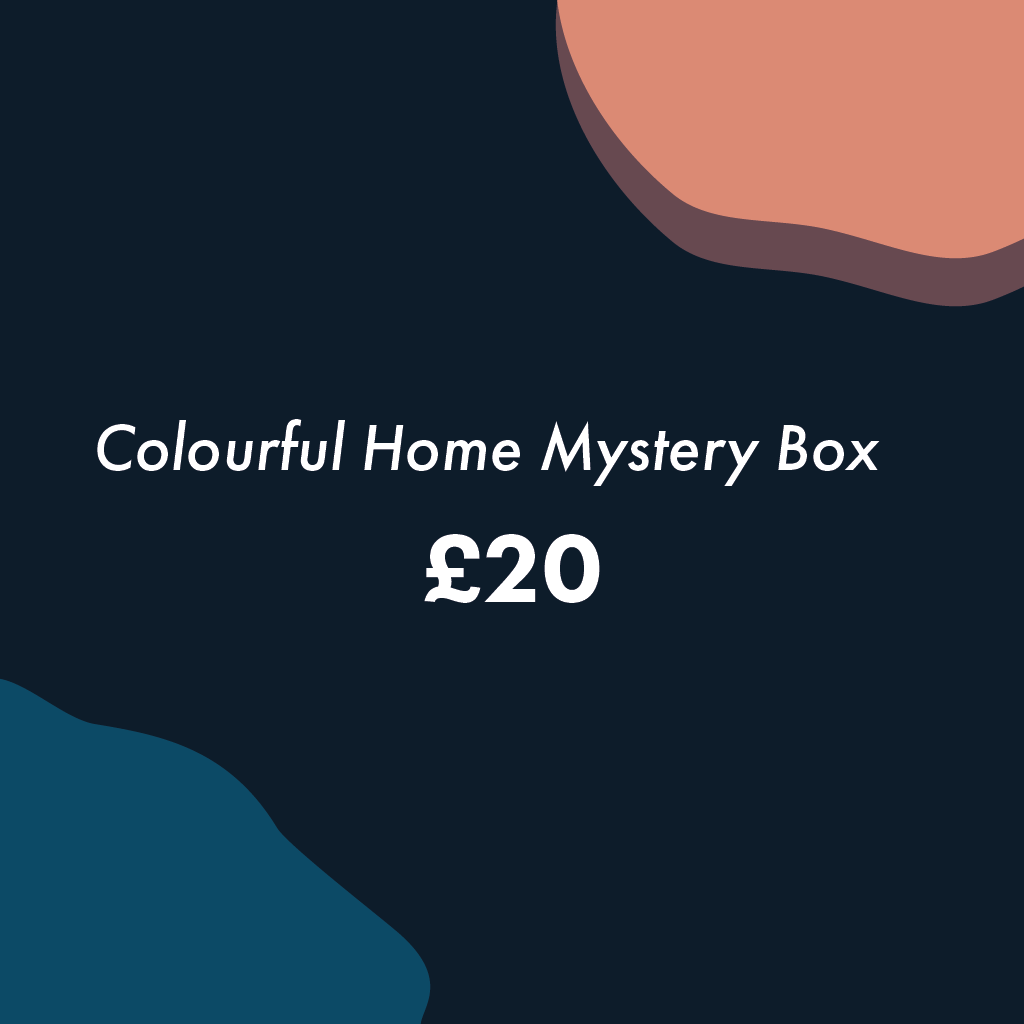 Colourful Home Mystery Box (small) - MAiK sustainably sourced, ethically produced.