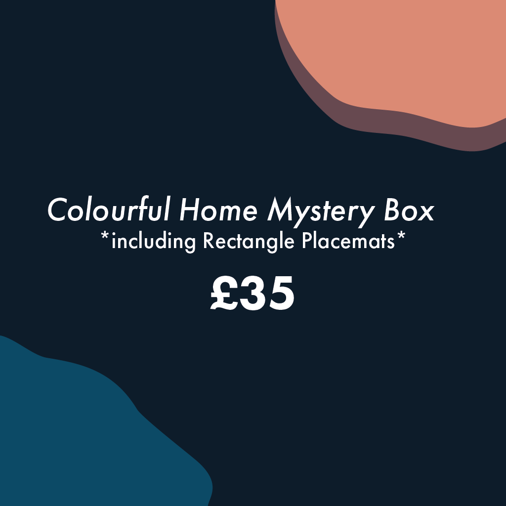 Colourful Home Mystery Box (large) - MAiK sustainably sourced, ethically produced.