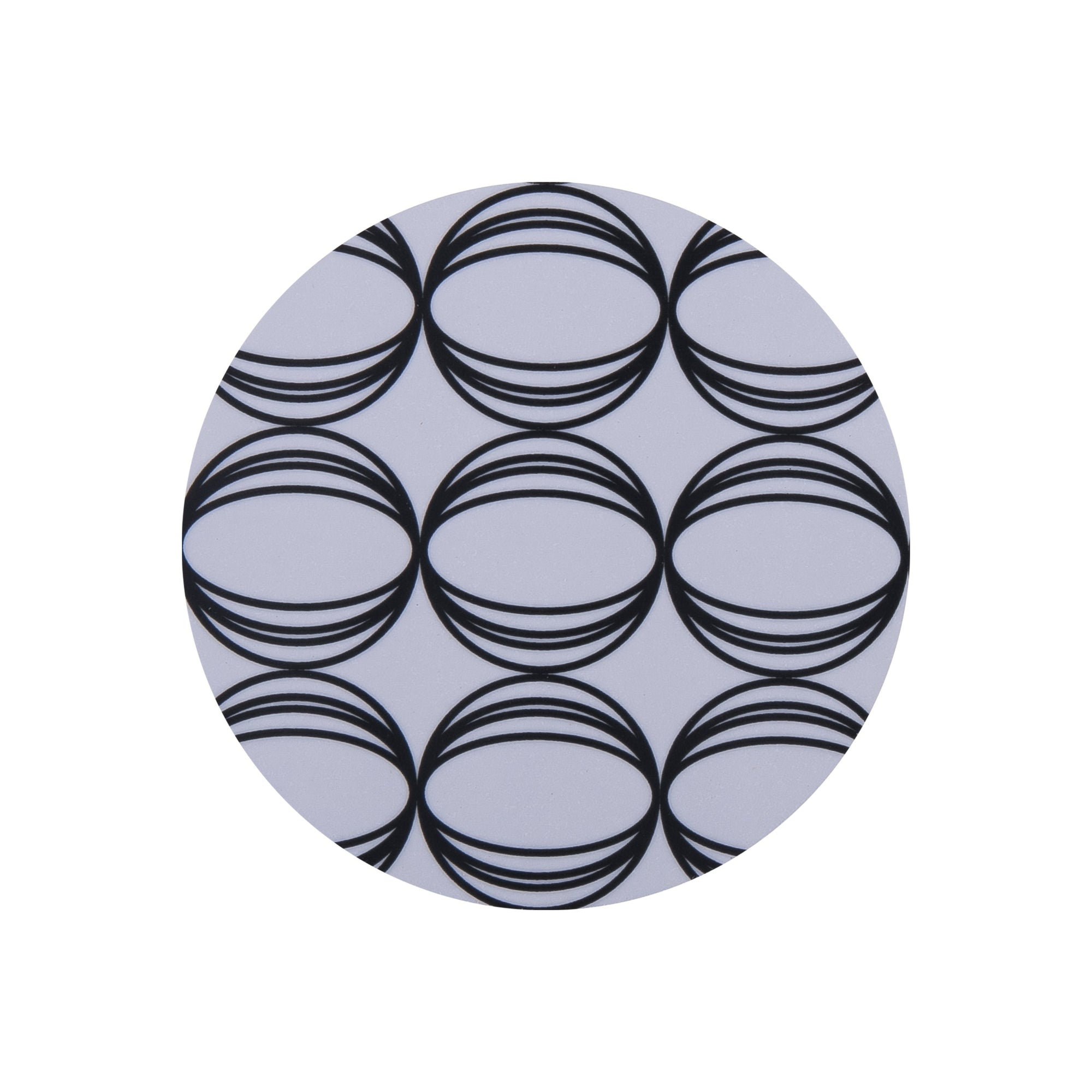Oval Round Coaster - MAiK sustainably sourced, ethically produced.