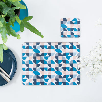Quarters Rectangle Placemat Set - MAiK sustainably sourced, ethically produced.
