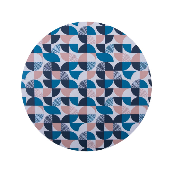 Quarters Round Placemat Set - MAiK sustainably sourced, ethically produced.