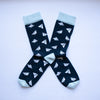 Paper Plane Socks - MAiK sustainably sourced, ethically produced.