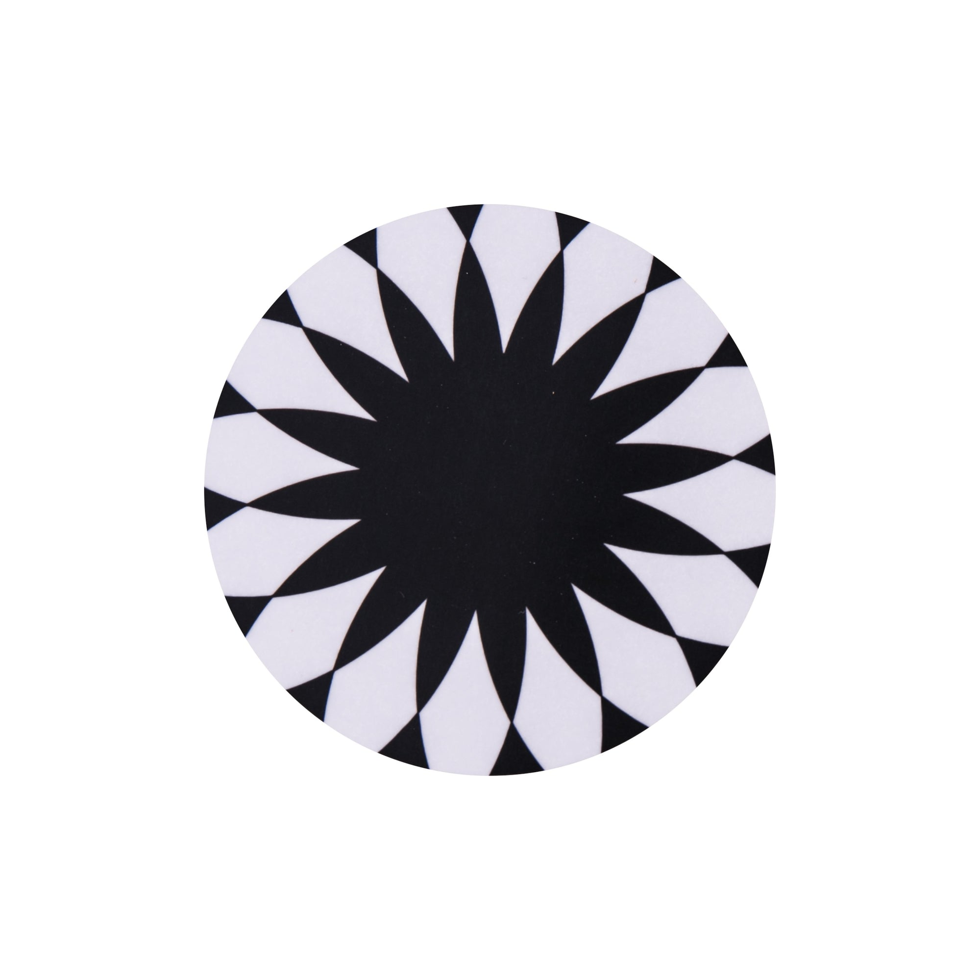 Star Burst Round Coaster - MAiK sustainably sourced, ethically produced.