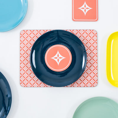 Star Rectangle Placemat Set - MAiK sustainably sourced, ethically produced.