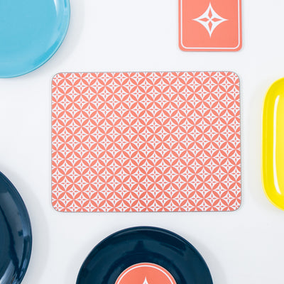 Star Square Coaster - MAiK sustainably sourced, ethically produced.