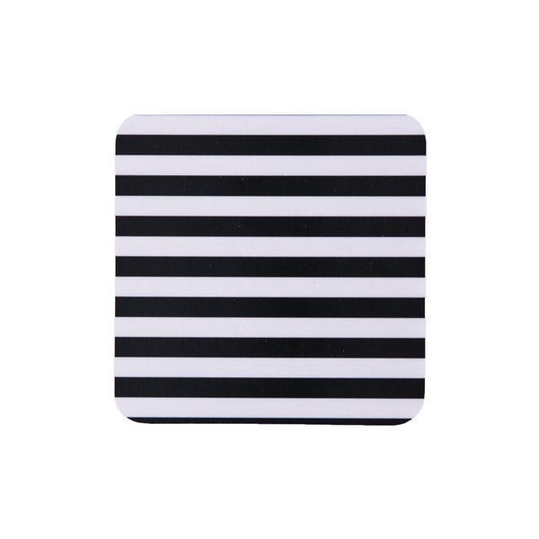 Stripes Square Coaster - MAiK sustainably sourced, ethically produced.
