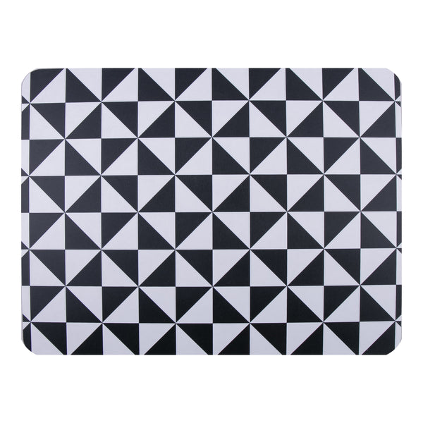 Triangles Extra Large Table Mat - MAiK sustainably sourced, ethically produced.