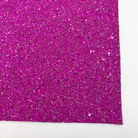 Berry Shimmer Premium Glitter Fabric Sheet